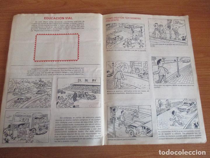 Coleccionismo deportivo: CUSCO ARTS GRAFIQUES: ALBUM DE CROMOS DE COCHES: COCHES COLECCION DE CROMOS ( COMPLETO) MOTOR 16 - Foto 19 - 195653476