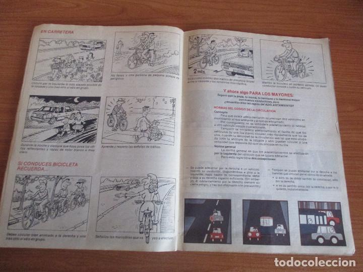 Coleccionismo deportivo: CUSCO ARTS GRAFIQUES: ALBUM DE CROMOS DE COCHES: COCHES COLECCION DE CROMOS ( COMPLETO) MOTOR 16 - Foto 20 - 195653476