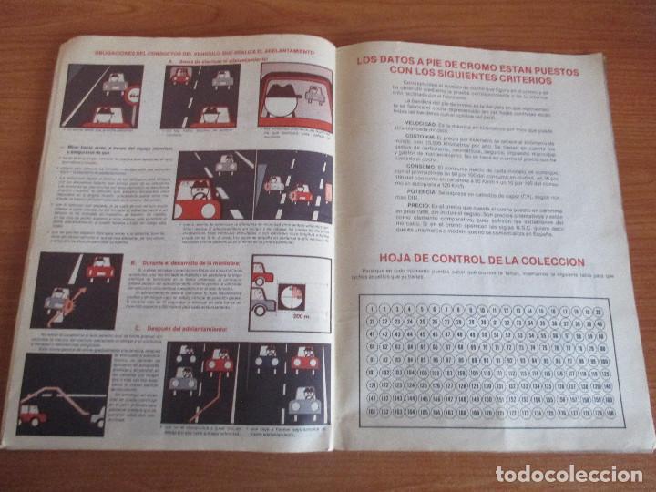 Coleccionismo deportivo: CUSCO ARTS GRAFIQUES: ALBUM DE CROMOS DE COCHES: COCHES COLECCION DE CROMOS ( COMPLETO) MOTOR 16 - Foto 21 - 195653476