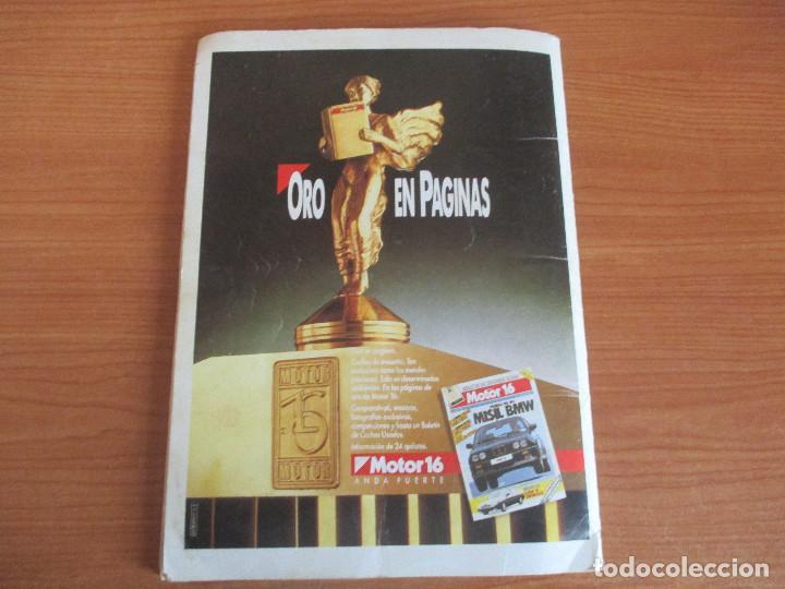 Coleccionismo deportivo: CUSCO ARTS GRAFIQUES: ALBUM DE CROMOS DE COCHES: COCHES COLECCION DE CROMOS ( COMPLETO) MOTOR 16 - Foto 23 - 195653476