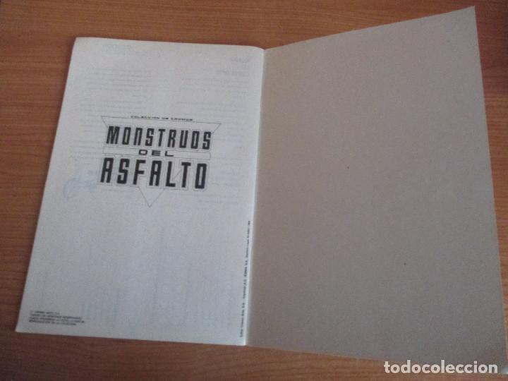 Coleccionismo deportivo: MOTOR 16: ALBUM DE CROMOS DE COCHES: MONSTRUOS DEL ASFALTO ( BANESTO) VACIO SIN CROMOS - Foto 3 - 195653845