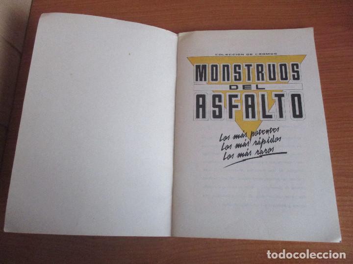 Coleccionismo deportivo: MOTOR 16: ALBUM DE CROMOS DE COCHES: MONSTRUOS DEL ASFALTO ( BANESTO) VACIO SIN CROMOS - Foto 4 - 195653845