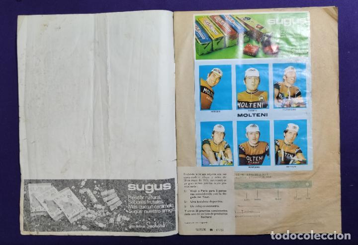 Coleccionismo deportivo: ALBUM CICLISTA. CHOCOLATE SUCHARD Y LA GACETA DEL NORTE. COMPLETO. 1973. - Foto 2 - 196091767