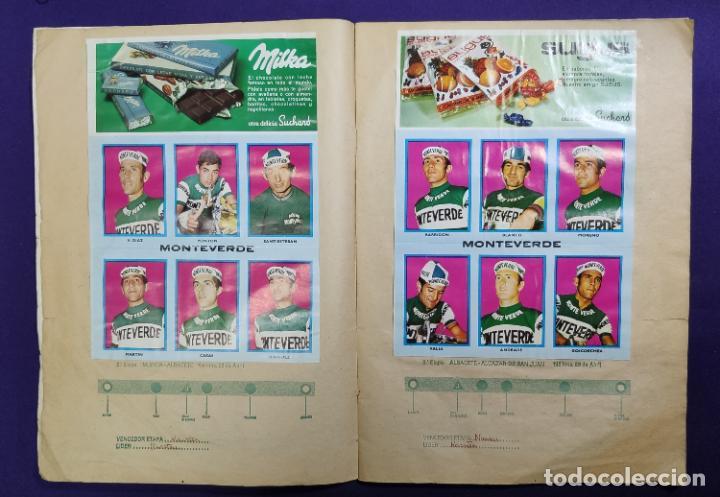 Coleccionismo deportivo: ALBUM CICLISTA. CHOCOLATE SUCHARD Y LA GACETA DEL NORTE. COMPLETO. 1973. - Foto 3 - 196091767