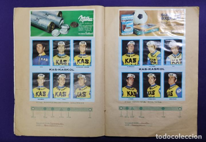 Coleccionismo deportivo: ALBUM CICLISTA. CHOCOLATE SUCHARD Y LA GACETA DEL NORTE. COMPLETO. 1973. - Foto 4 - 196091767