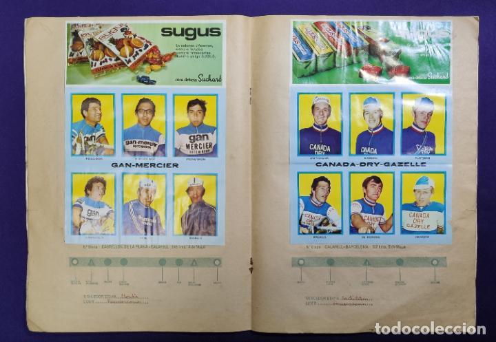 Coleccionismo deportivo: ALBUM CICLISTA. CHOCOLATE SUCHARD Y LA GACETA DEL NORTE. COMPLETO. 1973. - Foto 6 - 196091767