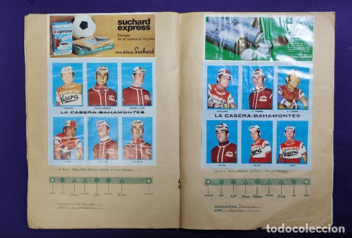 Coleccionismo deportivo: ALBUM CICLISTA. CHOCOLATE SUCHARD Y LA GACETA DEL NORTE. COMPLETO. 1973. - Foto 7 - 196091767