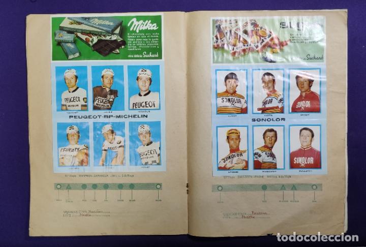 Coleccionismo deportivo: ALBUM CICLISTA. CHOCOLATE SUCHARD Y LA GACETA DEL NORTE. COMPLETO. 1973. - Foto 8 - 196091767