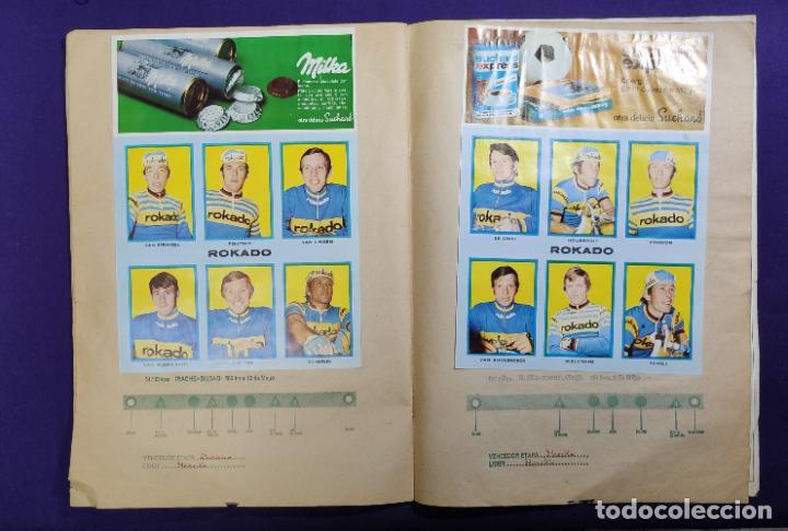 Coleccionismo deportivo: ALBUM CICLISTA. CHOCOLATE SUCHARD Y LA GACETA DEL NORTE. COMPLETO. 1973. - Foto 9 - 196091767