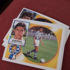 Collezionismo sportivo: ALBISTEGUI REAL SOCIEDAD 1994 1995 94 95 SIN PEGAR ESTE. Lote 196092491