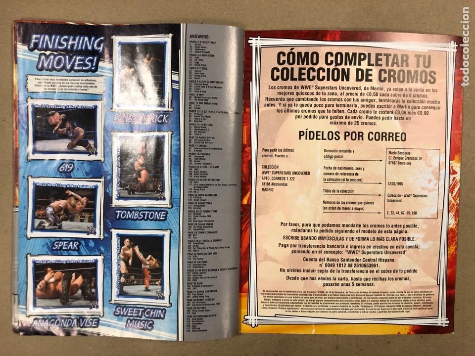 Coleccionismo deportivo: W SUPERSTARS UNCOVERED. ÁLBUM DE CROMOS, FALTAN 12 PARA COMPLETAR. EDITADO EN 2007 - Foto 24 - 196545410