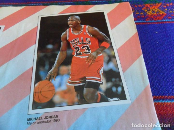 CON 2 CROMOS DE MICHAEL JORDAN, PANINI BASKET NBA 91 COMPLETO. PANINI 1991. DIFÍCIL. (Coleccionismo Deportivo - Álbumes otros Deportes)