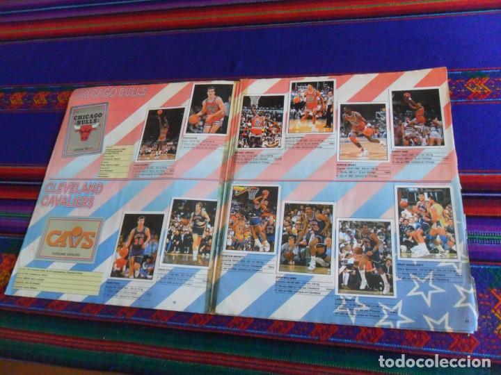 Coleccionismo deportivo: CON 2 CROMOS DE MICHAEL JORDAN, PANINI BASKET NBA 91 COMPLETO. PANINI 1991. DIFÍCIL. - Foto 4 - 197114661