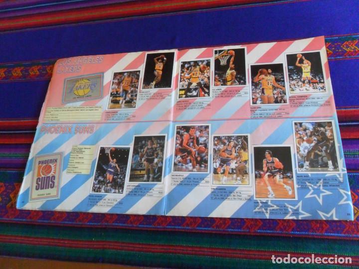 Coleccionismo deportivo: CON 2 CROMOS DE MICHAEL JORDAN, PANINI BASKET NBA 91 COMPLETO. PANINI 1991. DIFÍCIL. - Foto 7 - 197114661