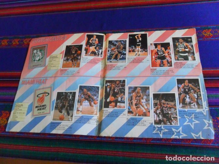 Coleccionismo deportivo: CON 2 CROMOS DE MICHAEL JORDAN, PANINI BASKET NBA 91 COMPLETO. PANINI 1991. DIFÍCIL. - Foto 8 - 197114661