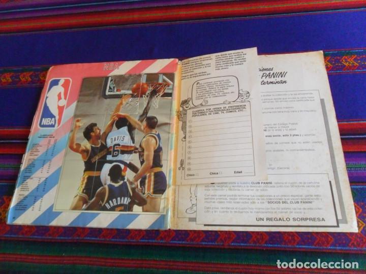Coleccionismo deportivo: CON 2 CROMOS DE MICHAEL JORDAN, PANINI BASKET NBA 91 COMPLETO. PANINI 1991. DIFÍCIL. - Foto 9 - 197114661