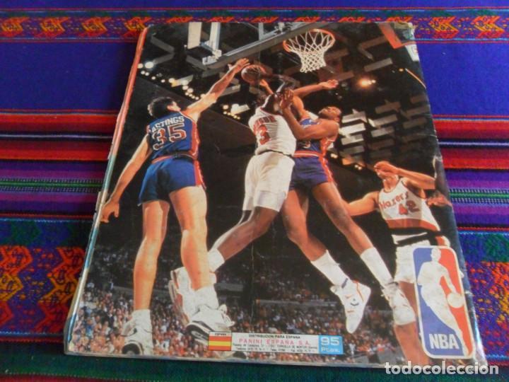 Coleccionismo deportivo: CON 2 CROMOS DE MICHAEL JORDAN, PANINI BASKET NBA 91 COMPLETO. PANINI 1991. DIFÍCIL. - Foto 10 - 197114661