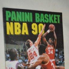 Coleccionismo deportivo: PANINI BASKET / NBA 90 - BUEN ESTADO, CASI COMPLETO / SOLO FALTAN 3 CROMOS (82, 91 Y 190) ¡MIRA!. Lote 197221876