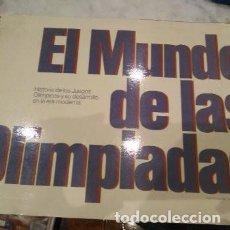 Coleccionismo deportivo: EL MUNDO DE LAS OLIMPIADAS. ALBUM COMPLETO. 138 CROMOS. NO SE COMERCIALIZO POCO VISTO. 1976.. Lote 197441456