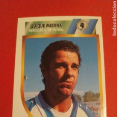 Coleccionismo deportivo: CROMO QUIQUE MEDINA HÉRCULES LIGA ESTE 94 95 SEGUNDA DIVISIÓN 2A 1994 1995. Lote 198879397