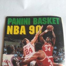 Coleccionismo deportivo: PANINI BASKET NBA 90, ALBUM DE CROMOS. TAL CUAL FOTOS. Lote 199584700
