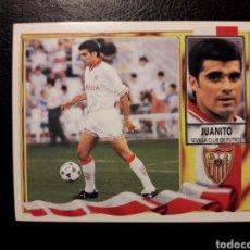 Coleccionismo deportivo: JUANITO SEVILLA. ESTE 95-96 1995-1996. SIN PEGAR. FOTOS FRONTAL Y TRASERA. Lote 199669565