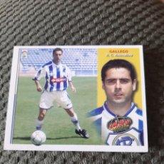 Coleccionismo deportivo: EDICIONES ESTE 2002 2003 SIN PEGAR RECREATIVO HUELVA GALLEGO. Lote 199701100