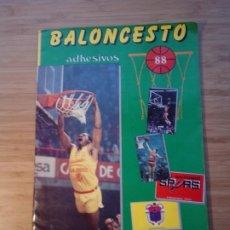 Coleccionismo deportivo: BALONCESTO 88 - COLECCION COMPLETA CROMOS - EDITOR J. MARCHANTE - MUY BUEN ESTADO - GORBAUD. Lote 200061925
