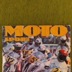Coleccionismo deportivo: ÁLBUM MOTO SPORT DE PANINI CROMOS CROM 1980. COMPLETO. ALGÚN DEFECTO, VER DESCRIPCIÓN Y FOTOGRAFÍAS. Lote 200241463