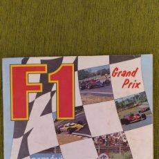 Coleccionismo deportivo: ÁLBUM F1 GRANDE PRIX DE PANINI 1980. COMPLETO. Lote 200245365