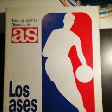 Coleccionismo deportivo: ALBUM DE CROMOS LOS ASES DE LA NBA CON 42 CROMOS. Lote 201117270