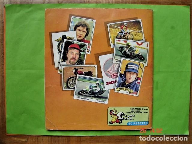 Coleccionismo deportivo: ÁLBUM COMPLETO MOTO SPORT DE PANINI 1980 - Foto 2 - 201986296