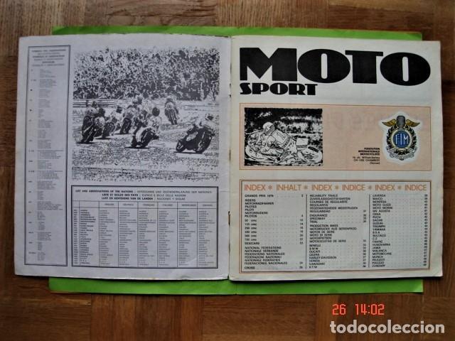 Coleccionismo deportivo: ÁLBUM COMPLETO MOTO SPORT DE PANINI 1980 - Foto 4 - 201986296