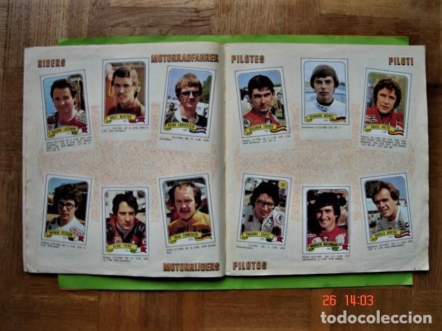 Coleccionismo deportivo: ÁLBUM COMPLETO MOTO SPORT DE PANINI 1980 - Foto 5 - 201986296