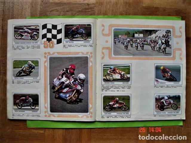 Coleccionismo deportivo: ÁLBUM COMPLETO MOTO SPORT DE PANINI 1980 - Foto 9 - 201986296