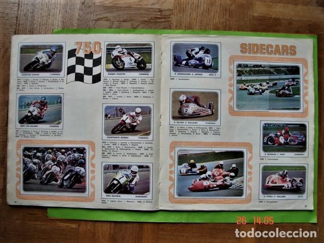 Coleccionismo deportivo: ÁLBUM COMPLETO MOTO SPORT DE PANINI 1980 - Foto 14 - 201986296