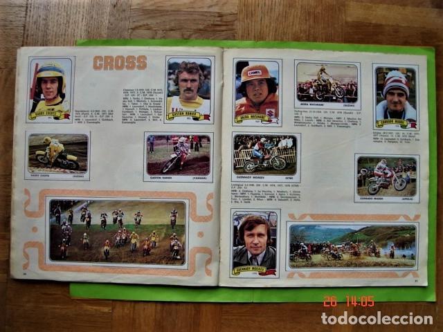 Coleccionismo deportivo: ÁLBUM COMPLETO MOTO SPORT DE PANINI 1980 - Foto 16 - 201986296