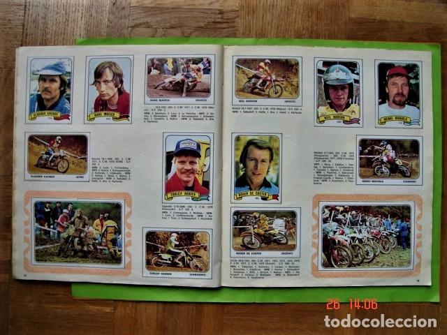 Coleccionismo deportivo: ÁLBUM COMPLETO MOTO SPORT DE PANINI 1980 - Foto 17 - 201986296