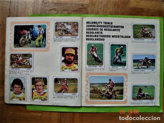 Coleccionismo deportivo: ÁLBUM COMPLETO MOTO SPORT DE PANINI 1980 - Foto 18 - 201986296