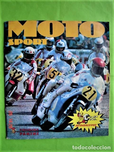 ÁLBUM COMPLETO MOTO SPORT DE PANINI 1980 (Coleccionismo Deportivo - Álbumes otros Deportes)