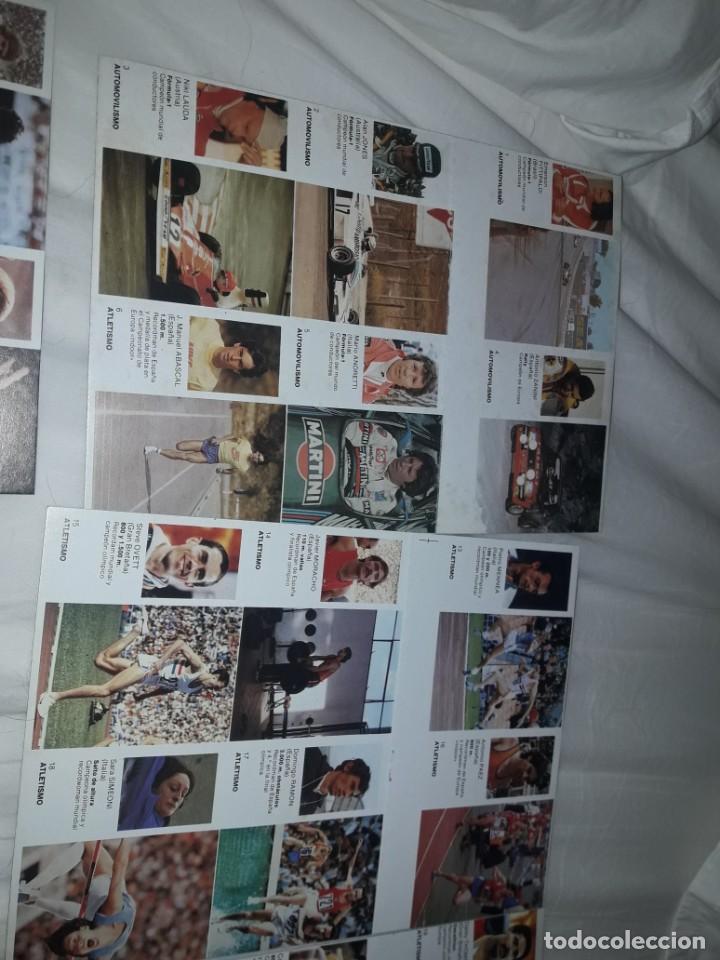 Coleccionismo deportivo: ALBUM VACIO PLANCHA + CASI TODA LA COLECCIÓN NUEVA SIN PEGAR DE ASES DEL DEPORTE MUNDIAL DE BRUGUERA - Foto 2 - 203074113