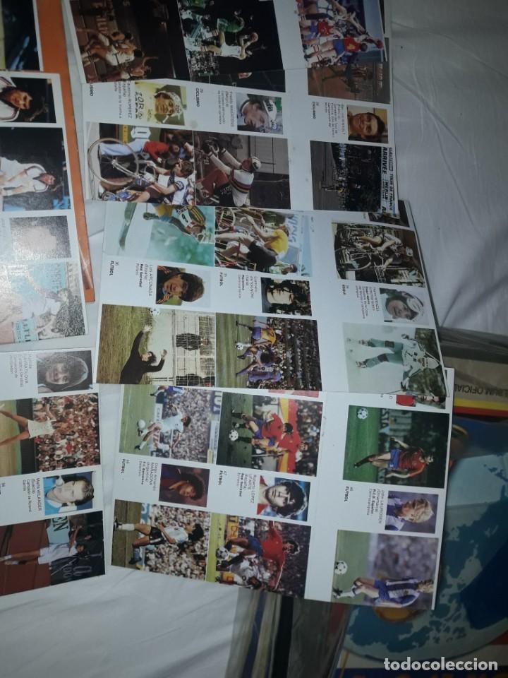 Coleccionismo deportivo: ALBUM VACIO PLANCHA + CASI TODA LA COLECCIÓN NUEVA SIN PEGAR DE ASES DEL DEPORTE MUNDIAL DE BRUGUERA - Foto 4 - 203074113