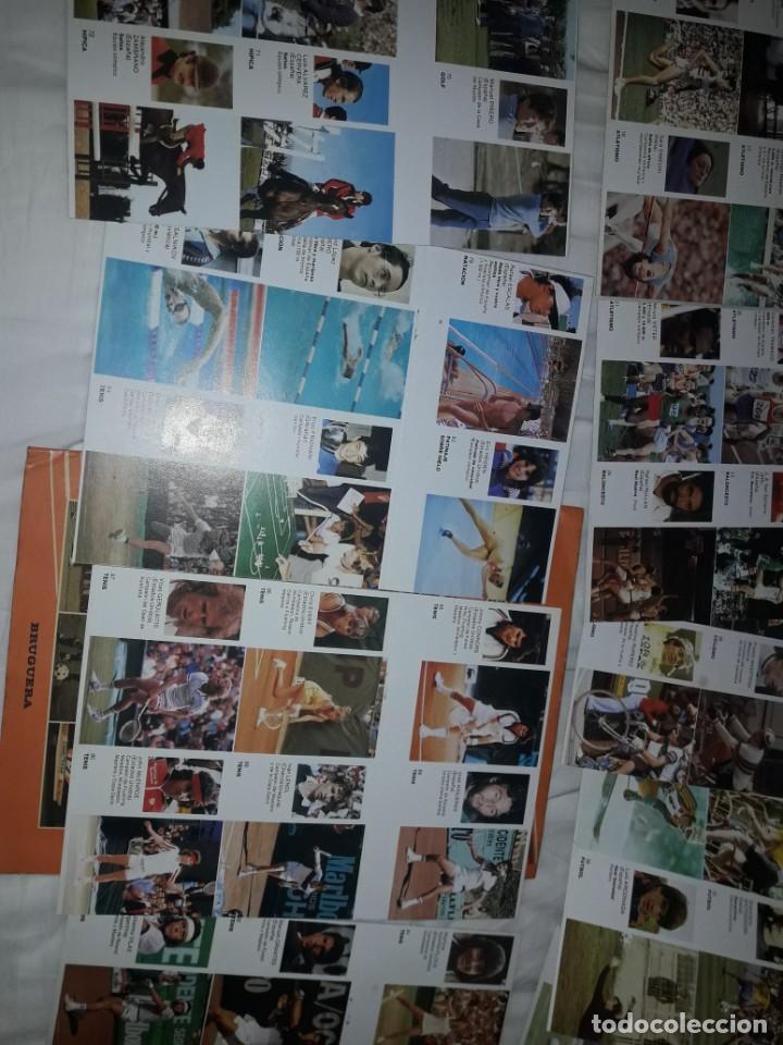 Coleccionismo deportivo: ALBUM VACIO PLANCHA + CASI TODA LA COLECCIÓN NUEVA SIN PEGAR DE ASES DEL DEPORTE MUNDIAL DE BRUGUERA - Foto 6 - 203074113