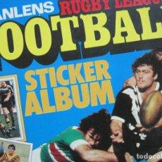 Coleccionismo deportivo: SCANLENS RUGBY LEAGUE FOOTBAL-ALBUM DE CROMOS COMPLETO-VER FOTOS-(V-19.899). Lote 203090406