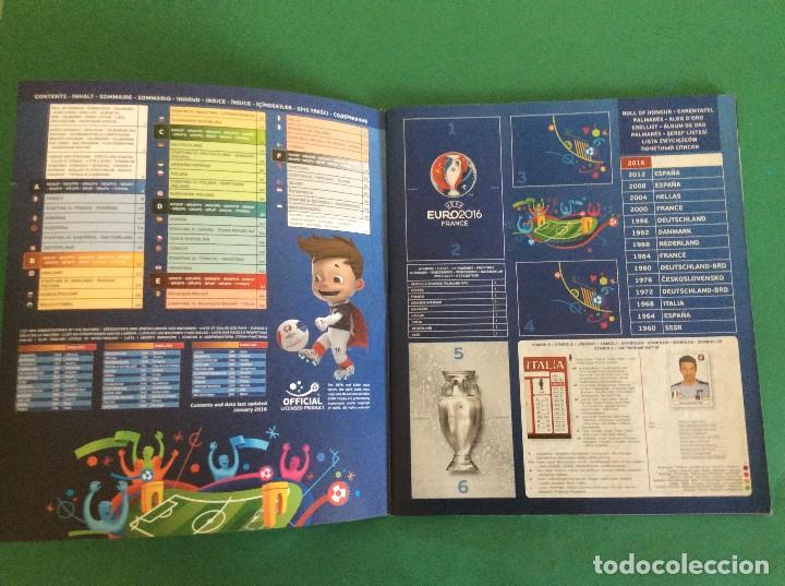 Coleccionismo deportivo: ÁLBUM DE FUTBOL UEFA EURO 2016 -ÁLBUM VACIO NUEVO PLANCHA - Foto 2 - 180256511