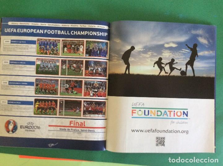 Coleccionismo deportivo: ÁLBUM DE FUTBOL UEFA EURO 2016 -ÁLBUM VACIO NUEVO PLANCHA - Foto 7 - 180256511