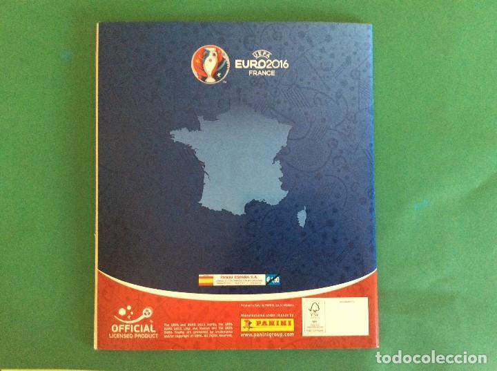 Coleccionismo deportivo: ÁLBUM DE FUTBOL UEFA EURO 2016 -ÁLBUM VACIO NUEVO PLANCHA - Foto 9 - 180256511