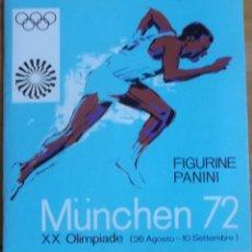 Coleccionismo deportivo: ALBUM PANINI MUNICH 72 COMPLETO. Lote 203740827