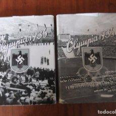 Coleccionismo deportivo: ALBUMES DE CROMOS EN ALEMAN OLYMPIA 1936 TOMOS 1 Y 2 COMPLETOS. Lote 204340338