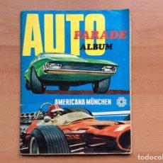 Coleccionismo deportivo: ÁLBUM COCHES AÑOS 60 - MÍTICOS RENAULT R4, R6, R12, CITROEN DYANE, SIMCA 1000, FIAT 500,124 UNA JOYA. Lote 204408606